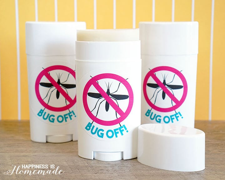 Bug Off DIY Natural Herbal Insect Repellent Stick