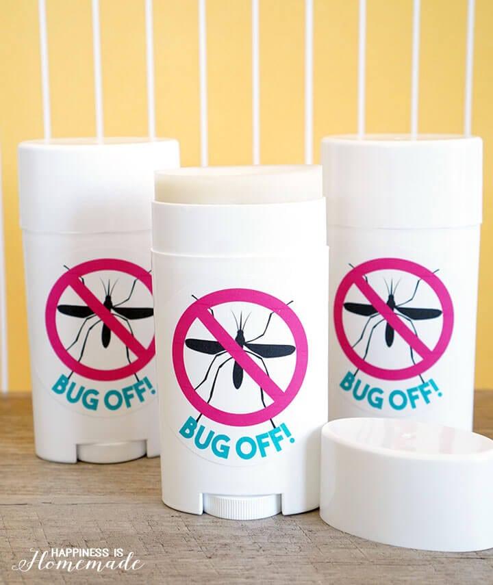 Bug Off - Easy DIY Natural Herbal Bug Repellent Sticks