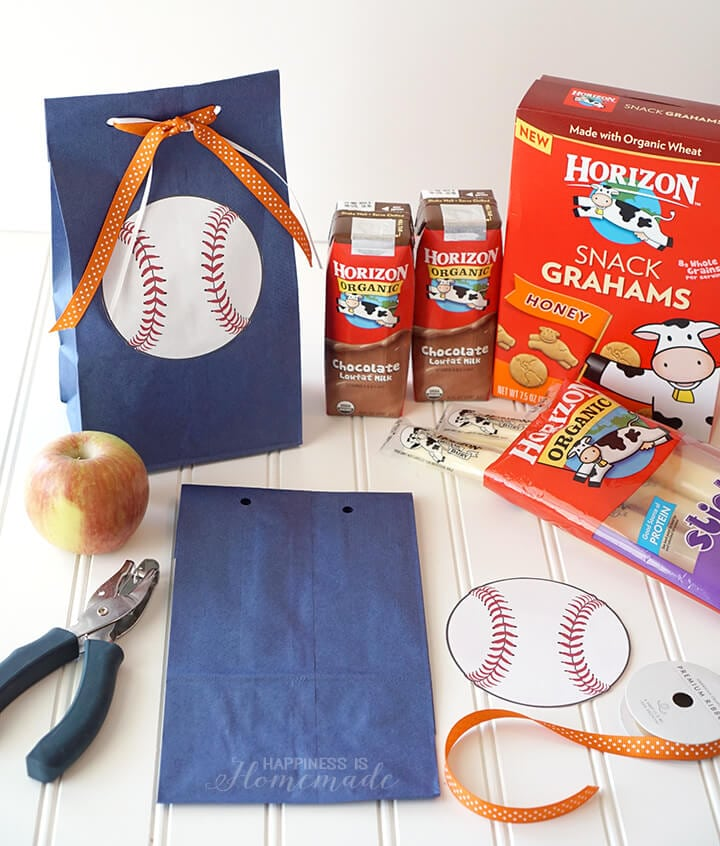 How to Make the Easiest and Cutest Baseball Team Snacks Ever