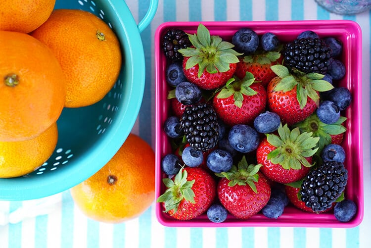 Fresh Fruit - Clementines and Berries