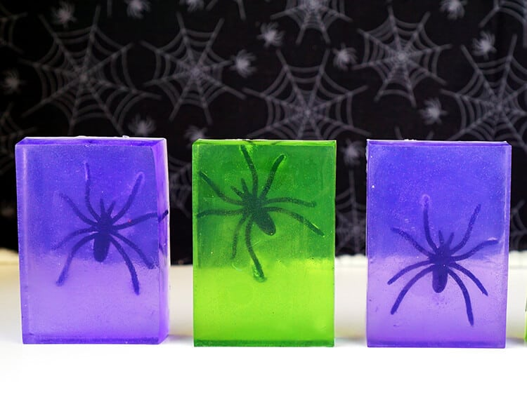 Halloween Spider Soap