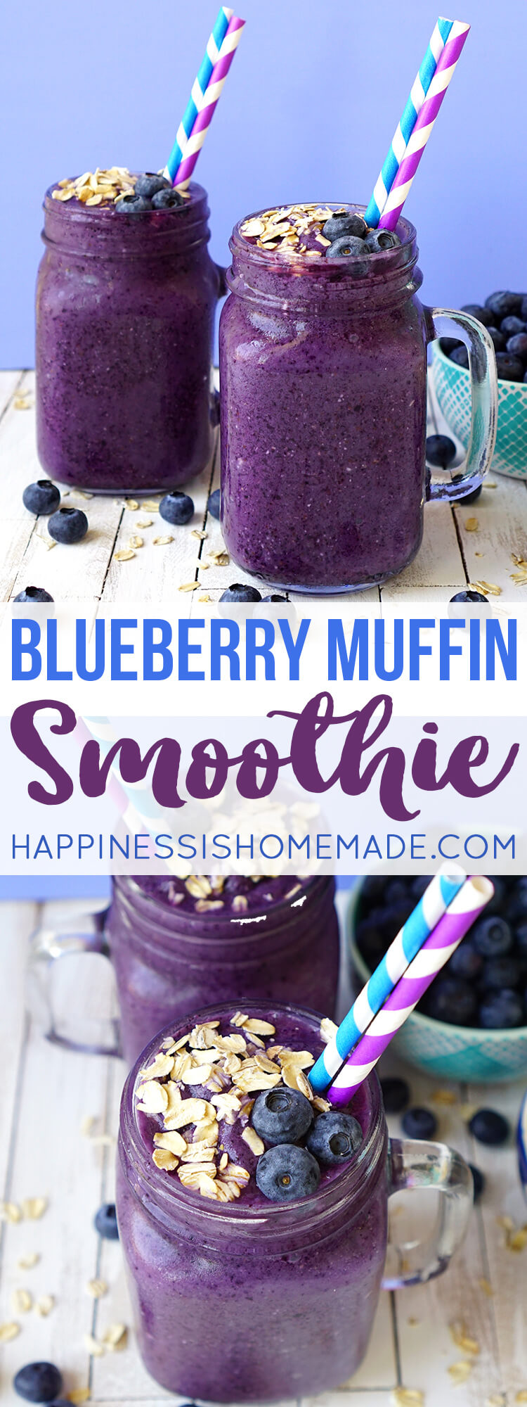 Healthy and Delicious Blueberry Muffin Smoothie Recipe