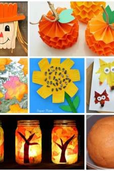 50 Quick Easy Kids Crafts That Anyone Can Make Happiness Is