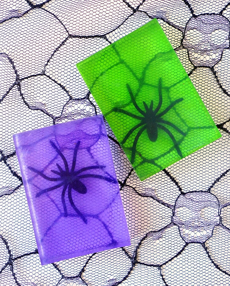 Spider Soap Craft for Halloween