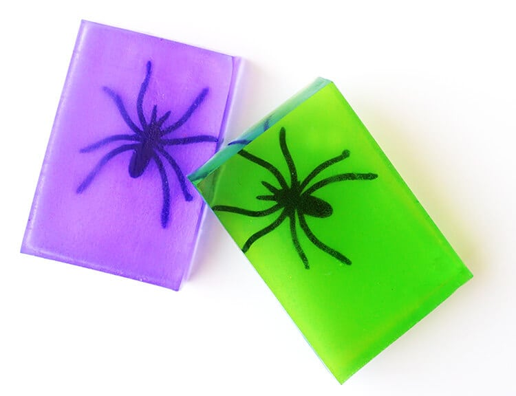 Spooky Spider Soap - Easy Halloween Craft