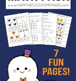 Kindergarten Halloween Math Pack - Happiness is Homemade [ 1470 x 750 Pixel ]