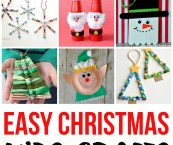 holiday crafts for kids easy