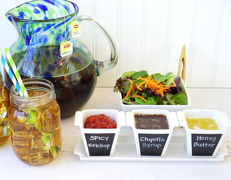 trio-of-dipping-sauces-for-chicken-and-waffles-sliders