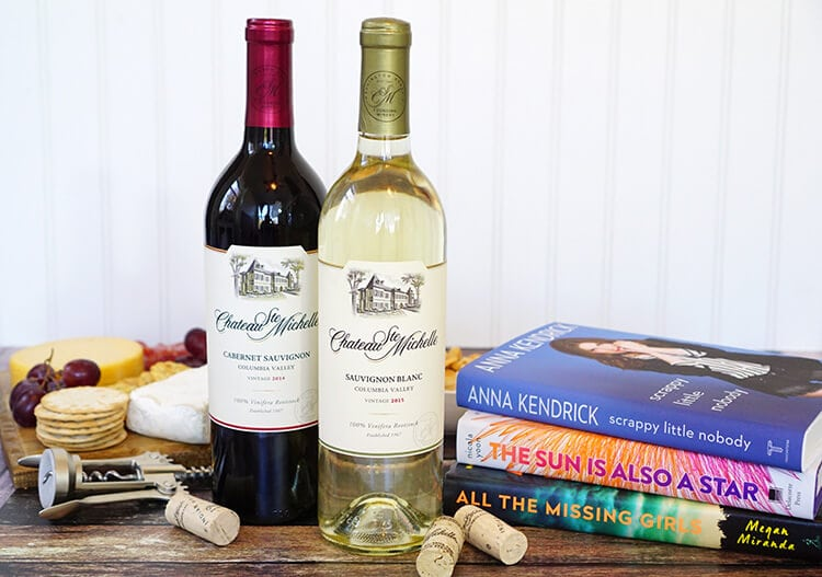chateau-ste-michelle-wines-and-book-pairings