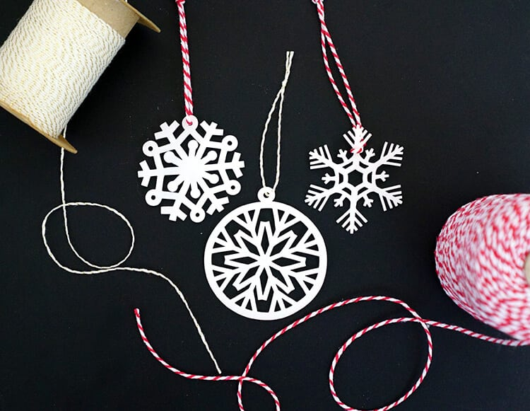 snowflake-shrinky-dink-ornaments