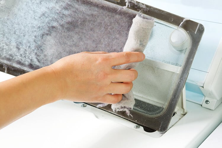 Clean Dryer Lint and Vents Regularly