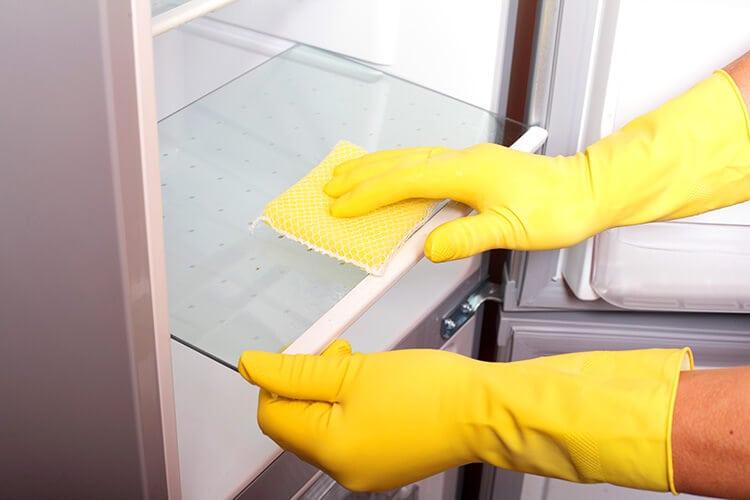 Clean Refrigerator Interior Regularly