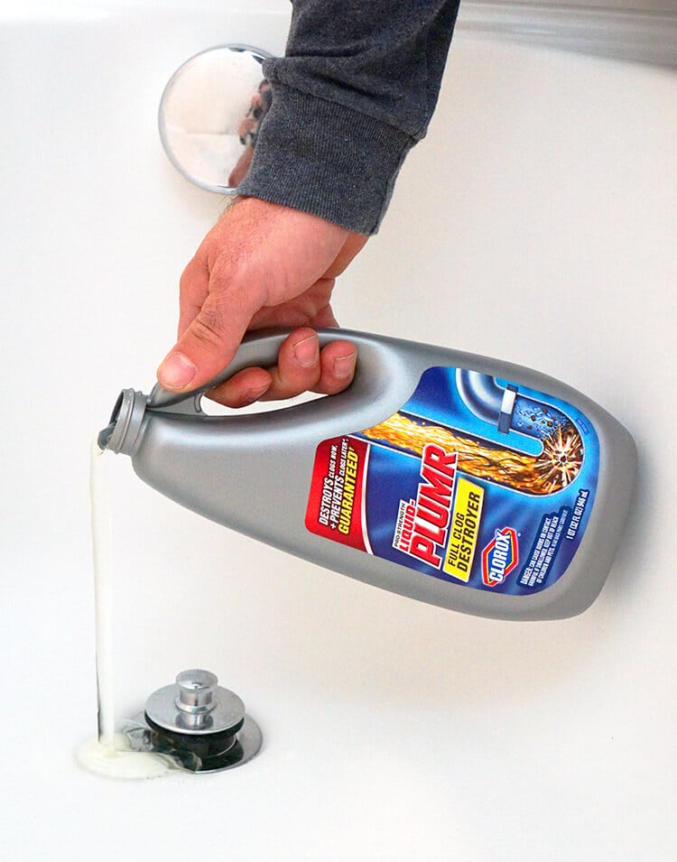 Clear Your Drains Regularly with Liquid Plumr
