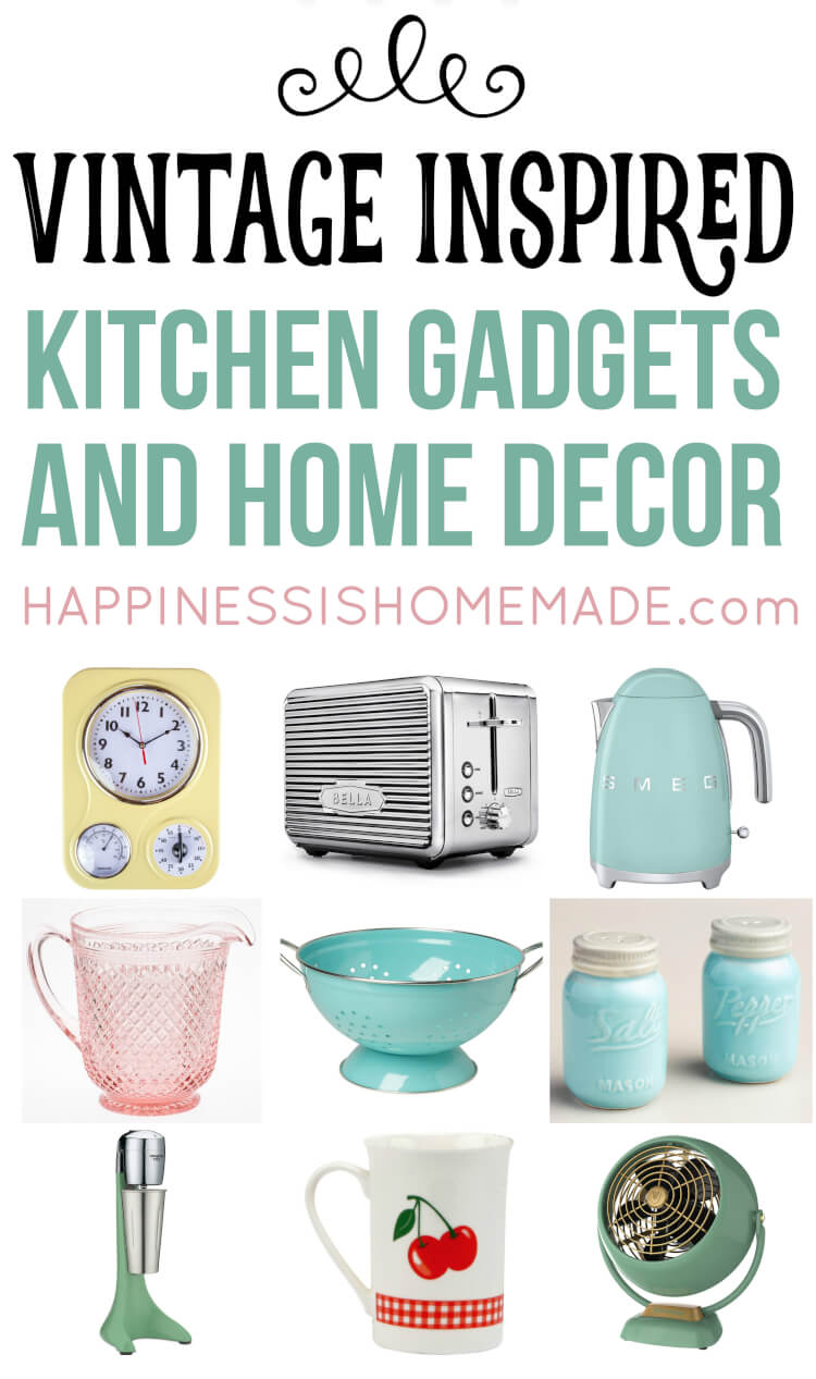 vintage kitchen step stool chair black glass cabinet doors inspired decor & gadgets - happiness is ...