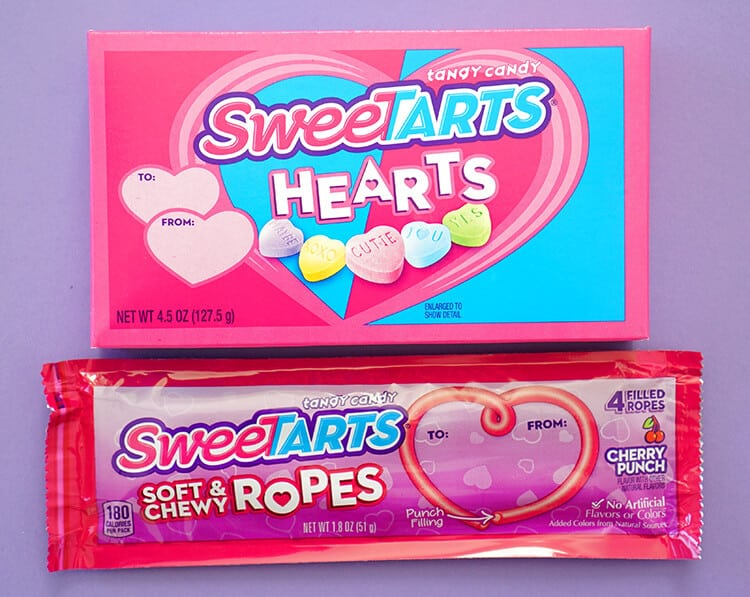 SweeTART Hearts and Rope Candy