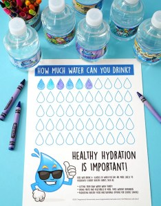 Healthy hydration water tracking chart also happiness is homemade rh happinessishomemade
