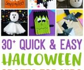 childrens halloween craft ideas