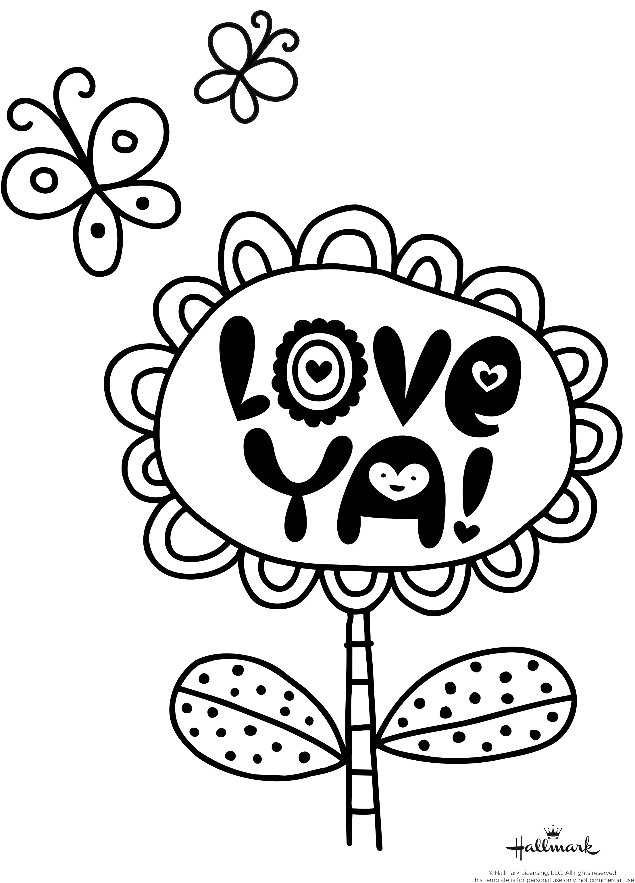 Valentines Coloring Pages Happiness Is Homemade