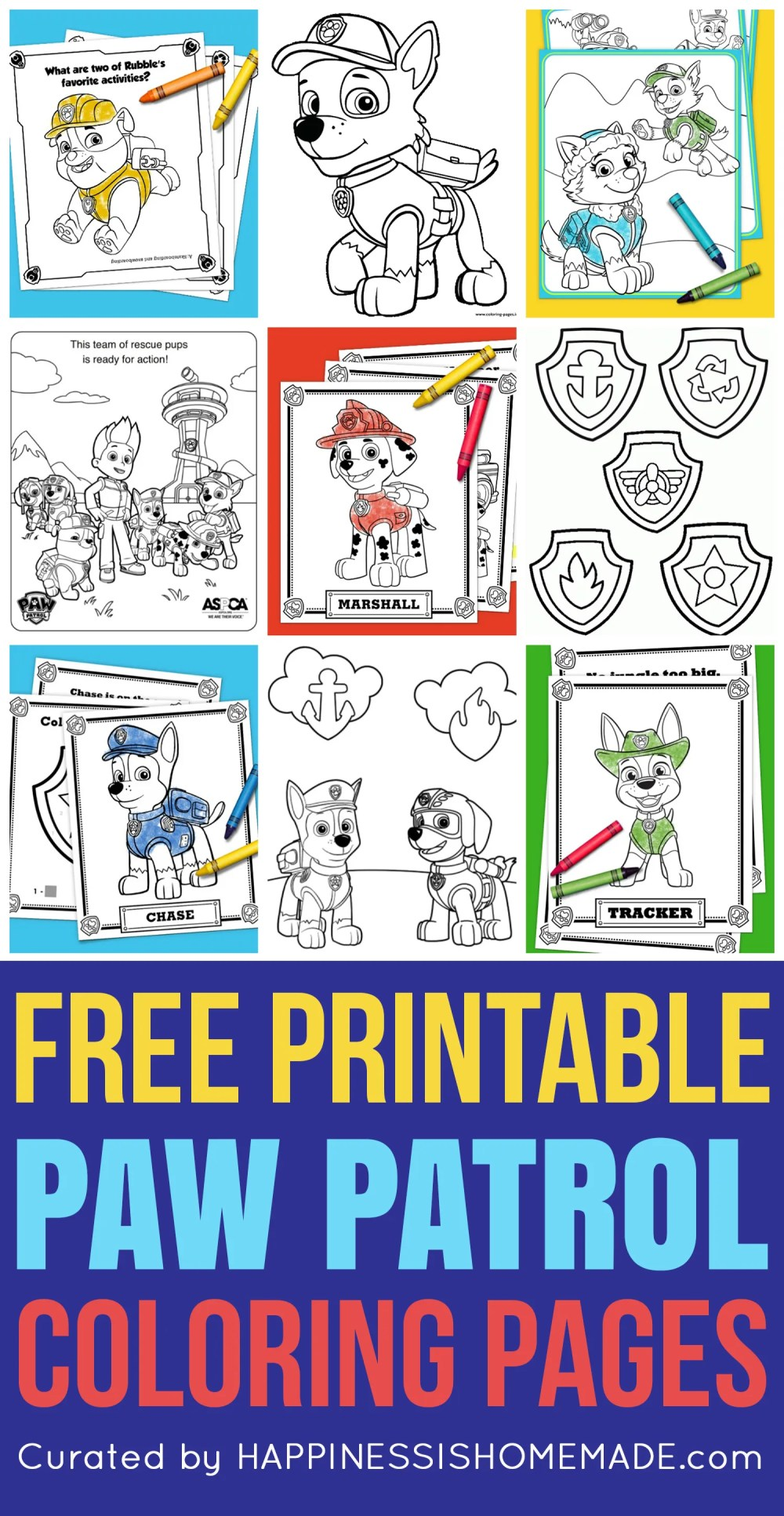 medium resolution of you ll go crazy for these printable paw patrol coloring sheets featuring ryder chase