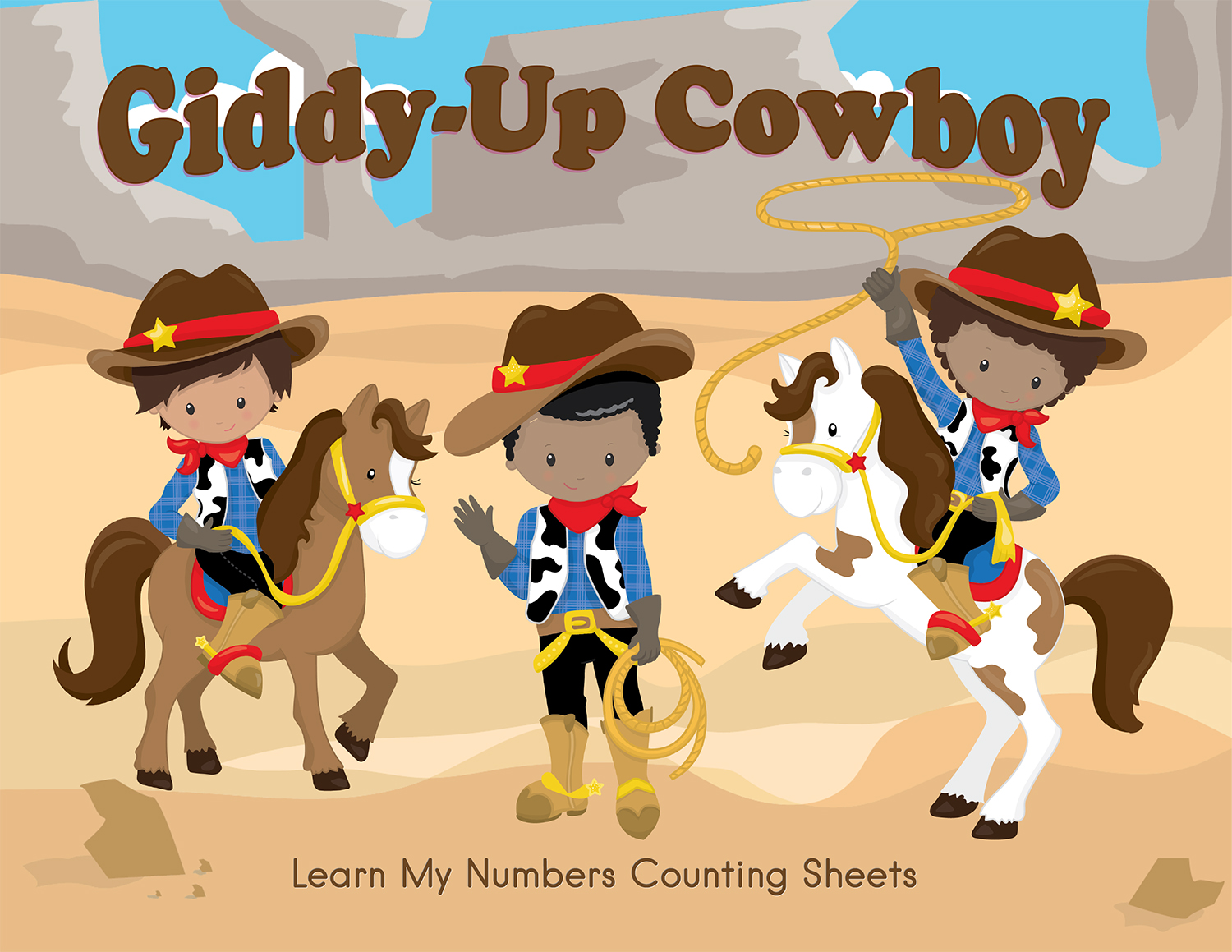 Cowboy Western Worksheets