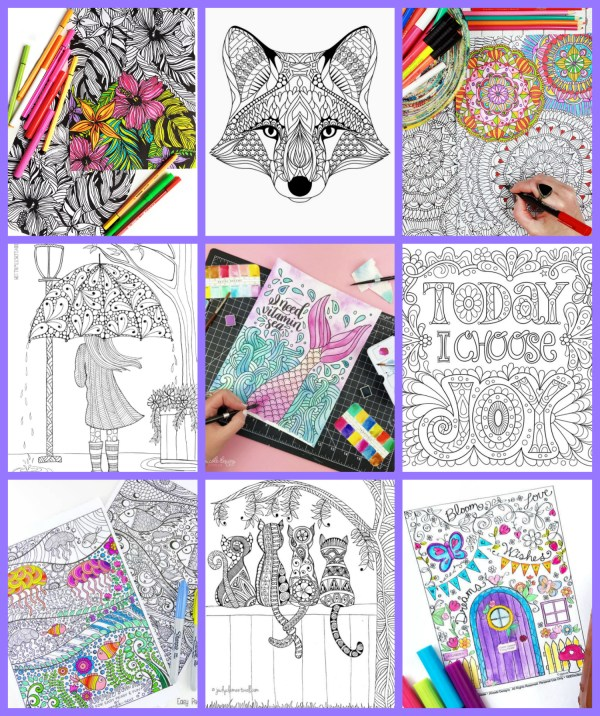 free detailed coloring pages # 26