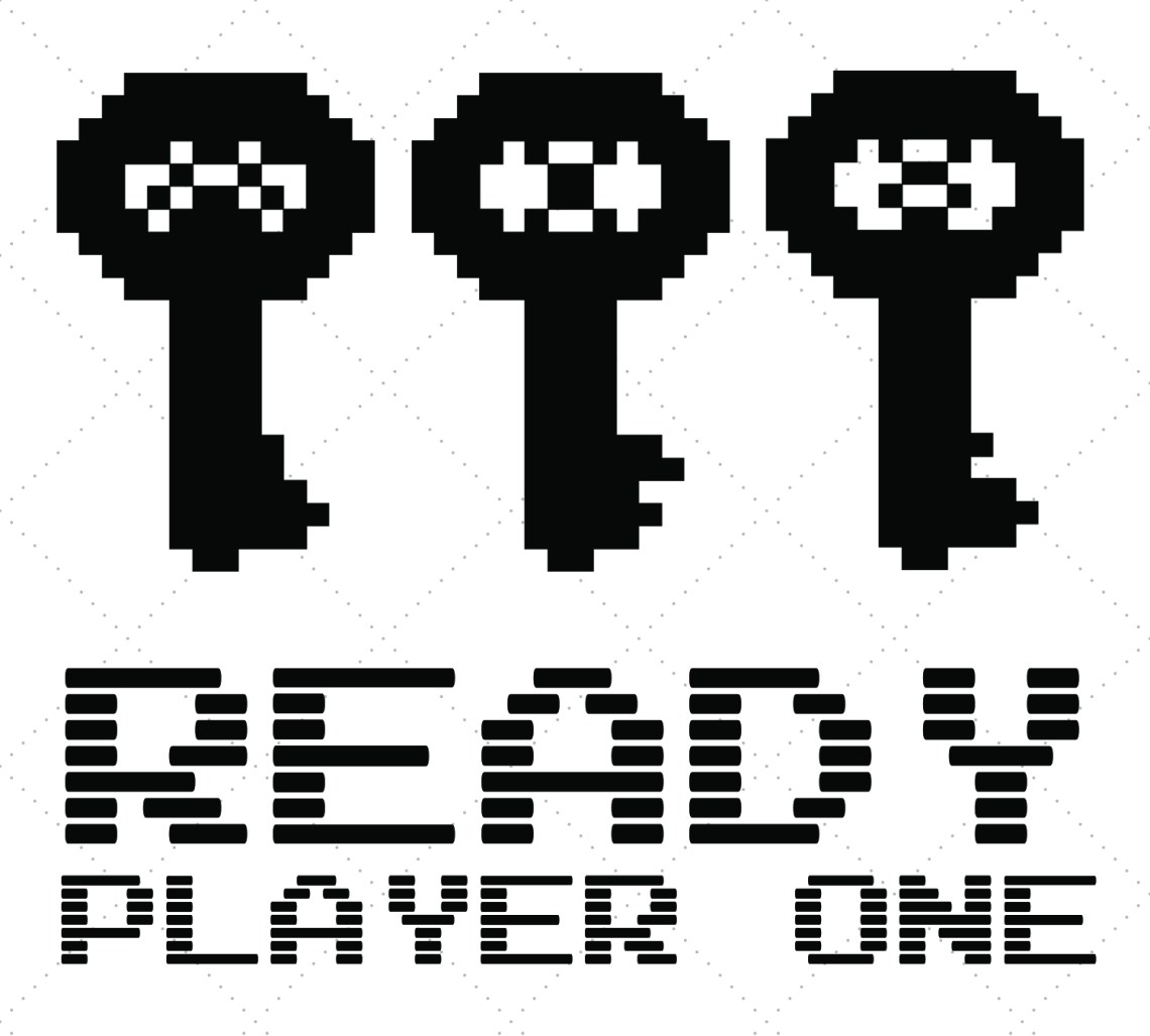 Download Ready Player One SVG File - Happiness is Homemade