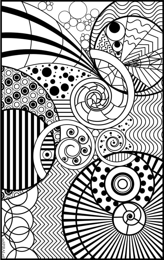 FREE Adult Coloring Pages - Happiness is Homemade | fun printable coloring pages for adults
