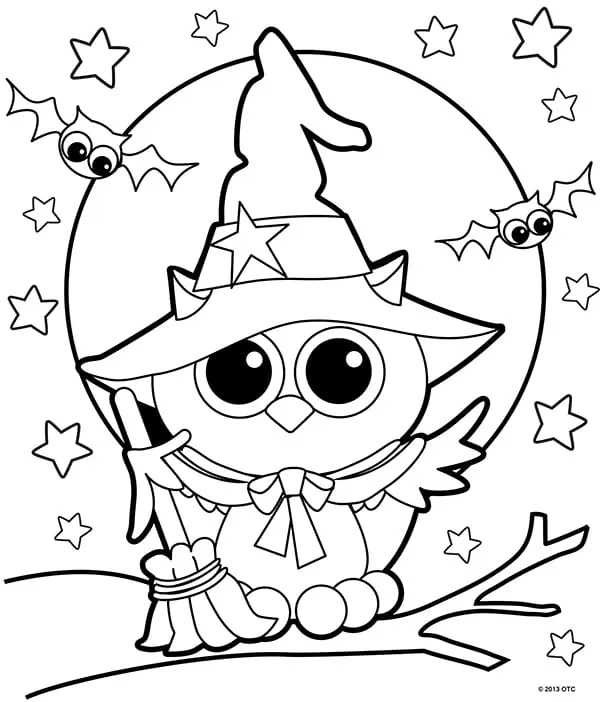 coloring pages halloween # 15