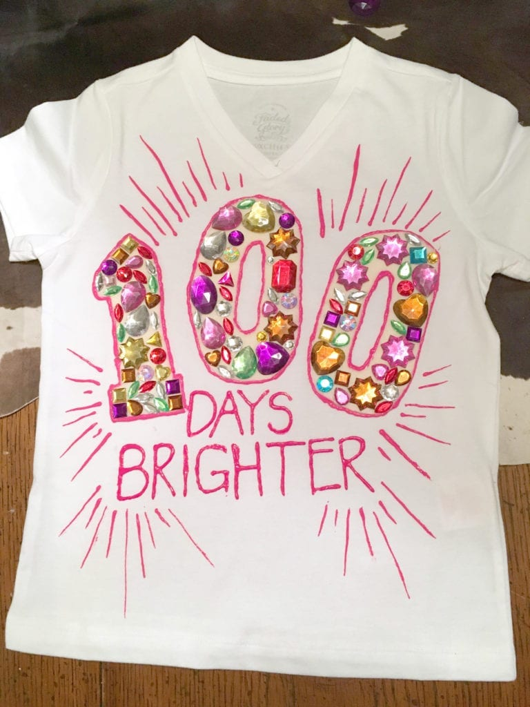 Download Easy 100 Days of School Shirt Ideas - Happiness is Homemade