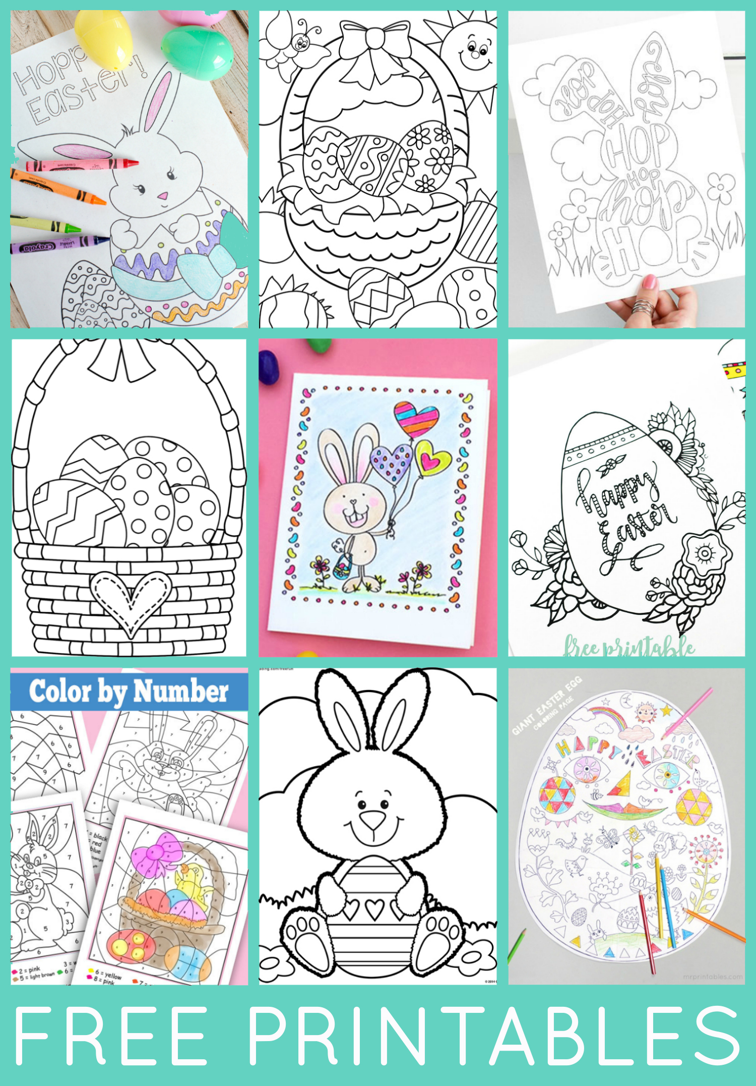 30 Totally Free Easter Printables
