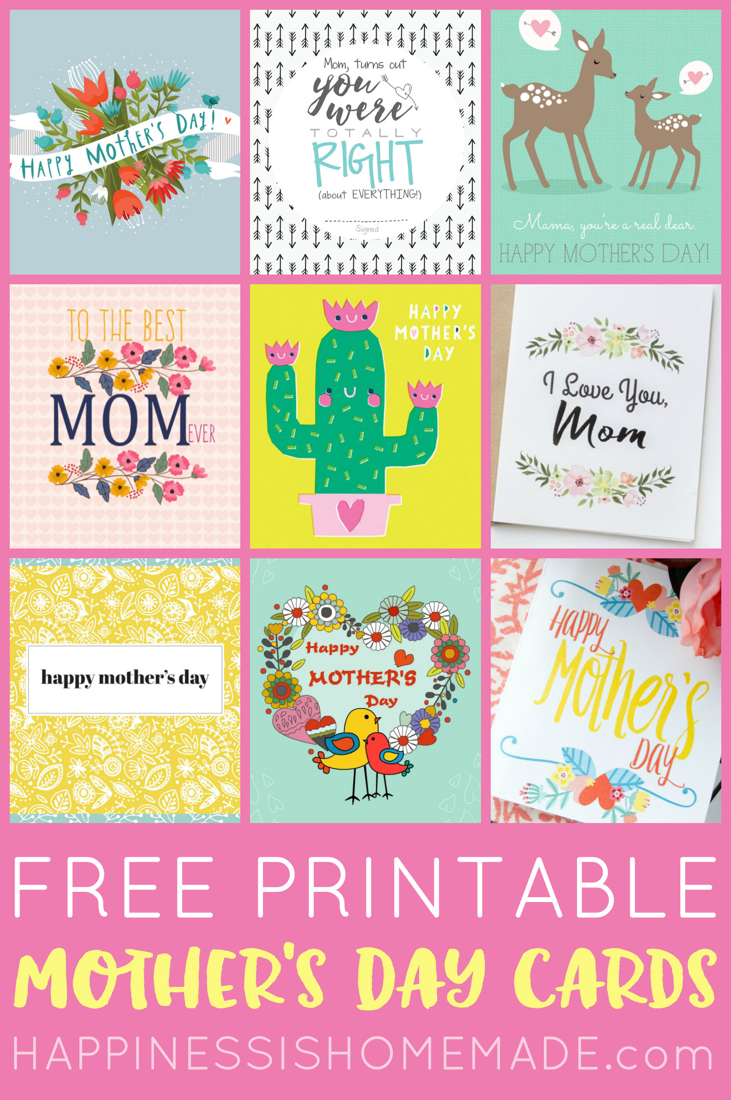 Bewitching Mothers Day Printable
