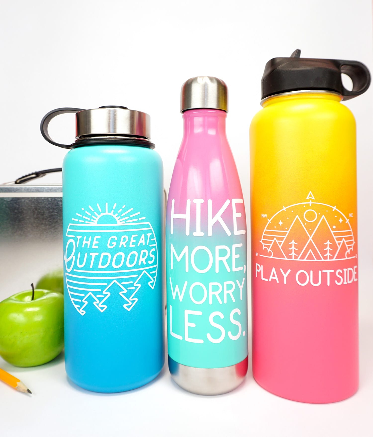 Company Logo Personalized Water Bottle Engraved Water Bottle Corporate Gift Idea Custom Logo Water Bottle Insulated Water Bottle