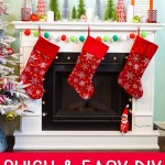 Easy Christmas Mantel Decor Ideas Happiness Is Homemade