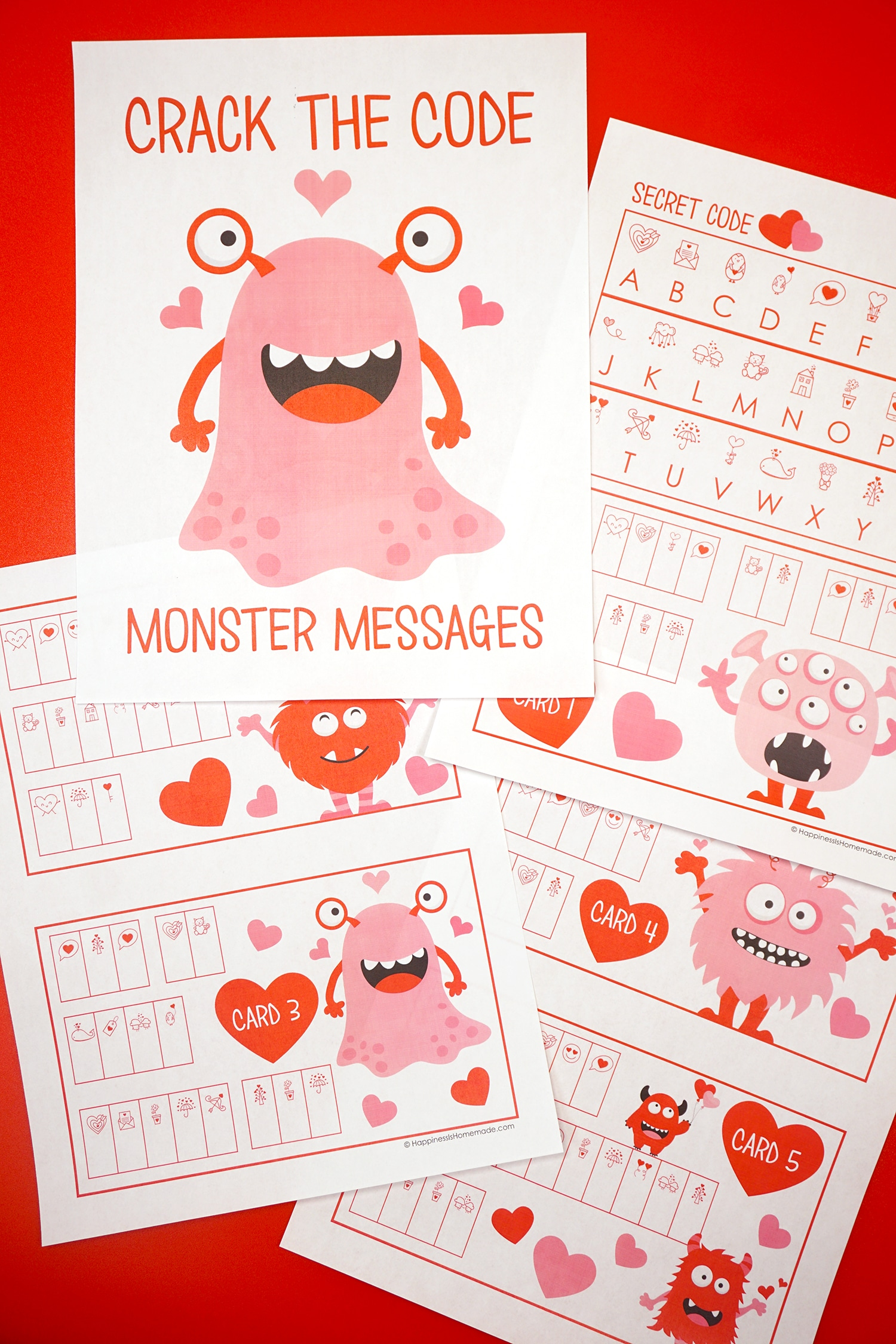 Printable Valentine S Day Game For Kids Crack The Code