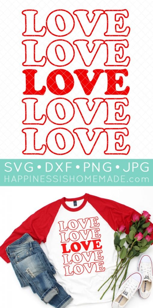 Download 15 Free Valentine SVG Files - Happiness is Homemade