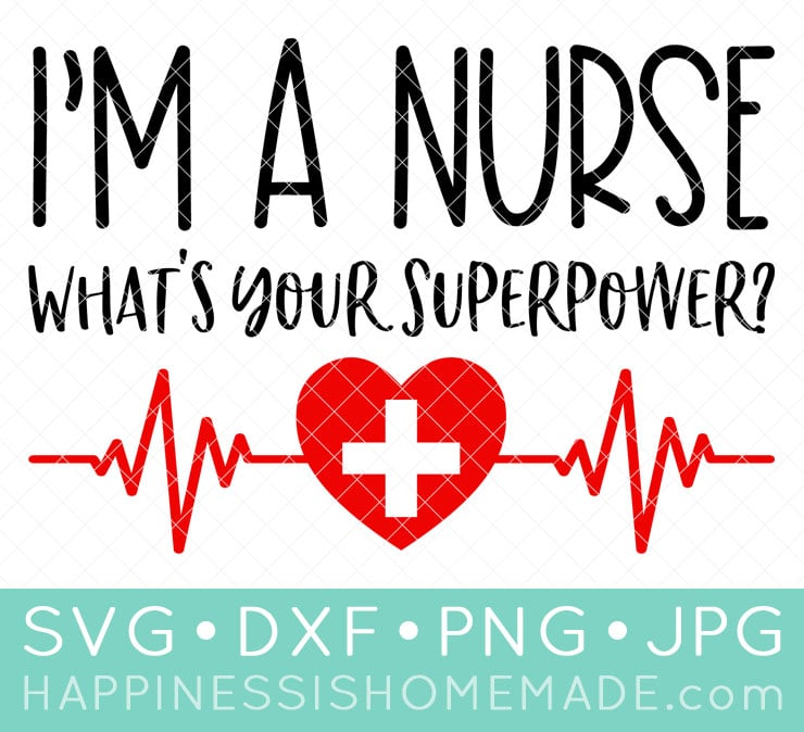 Download Free Nurse SVGs & Heathcare Worker Cut Files - Happiness ...
