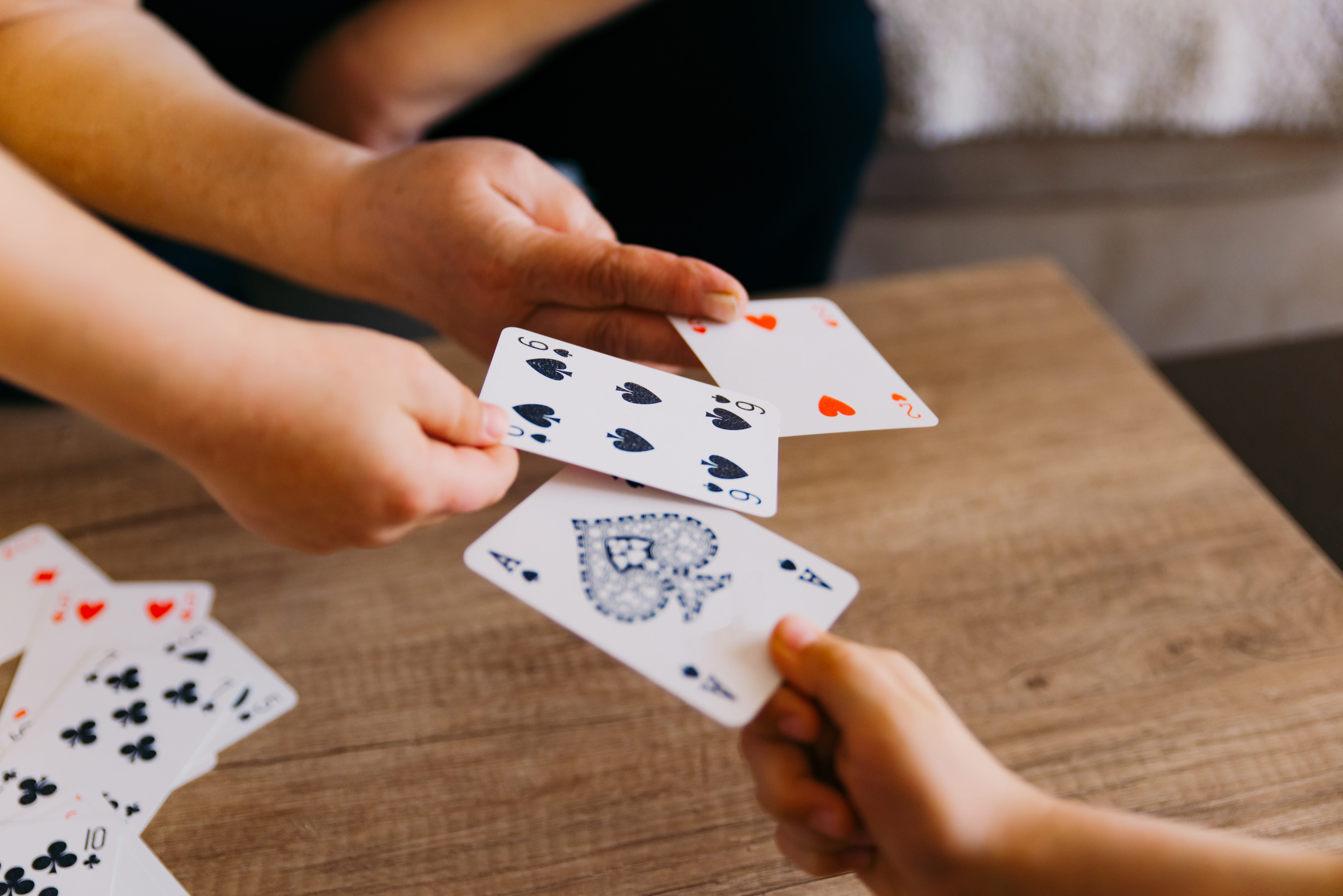5 Card Games for Kids (With Just One Deck) - Happiness is Homemade