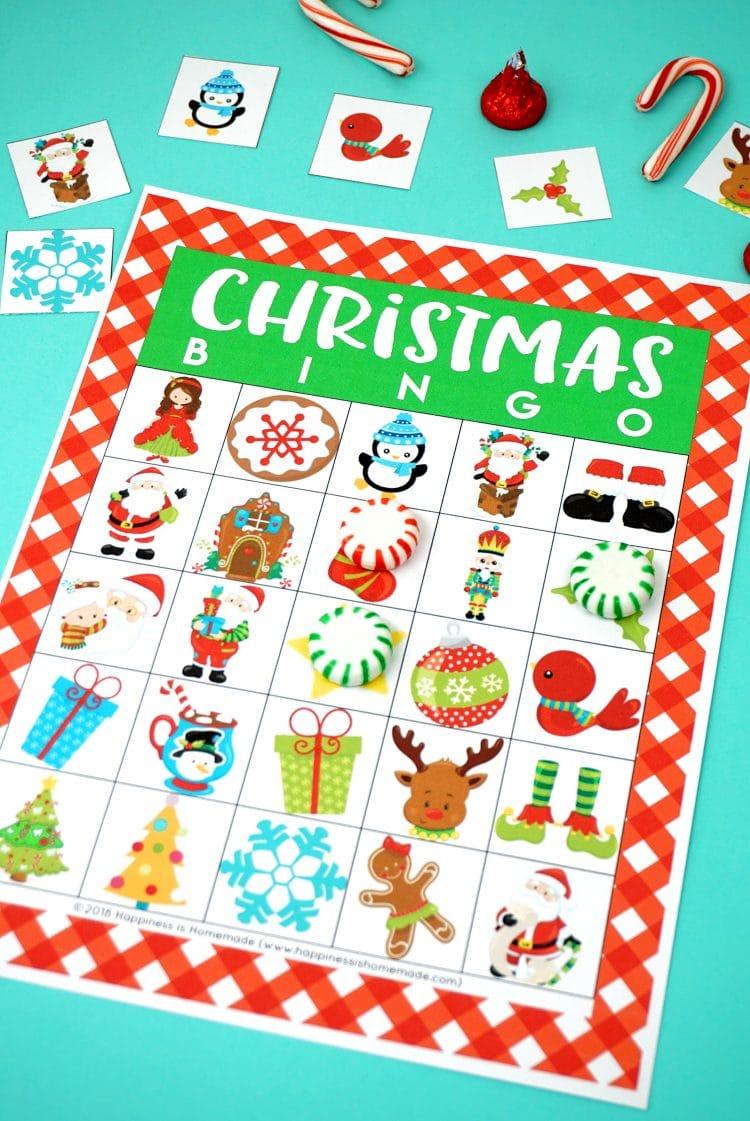 20 Printable Christmas Games Happiness Is Homemade