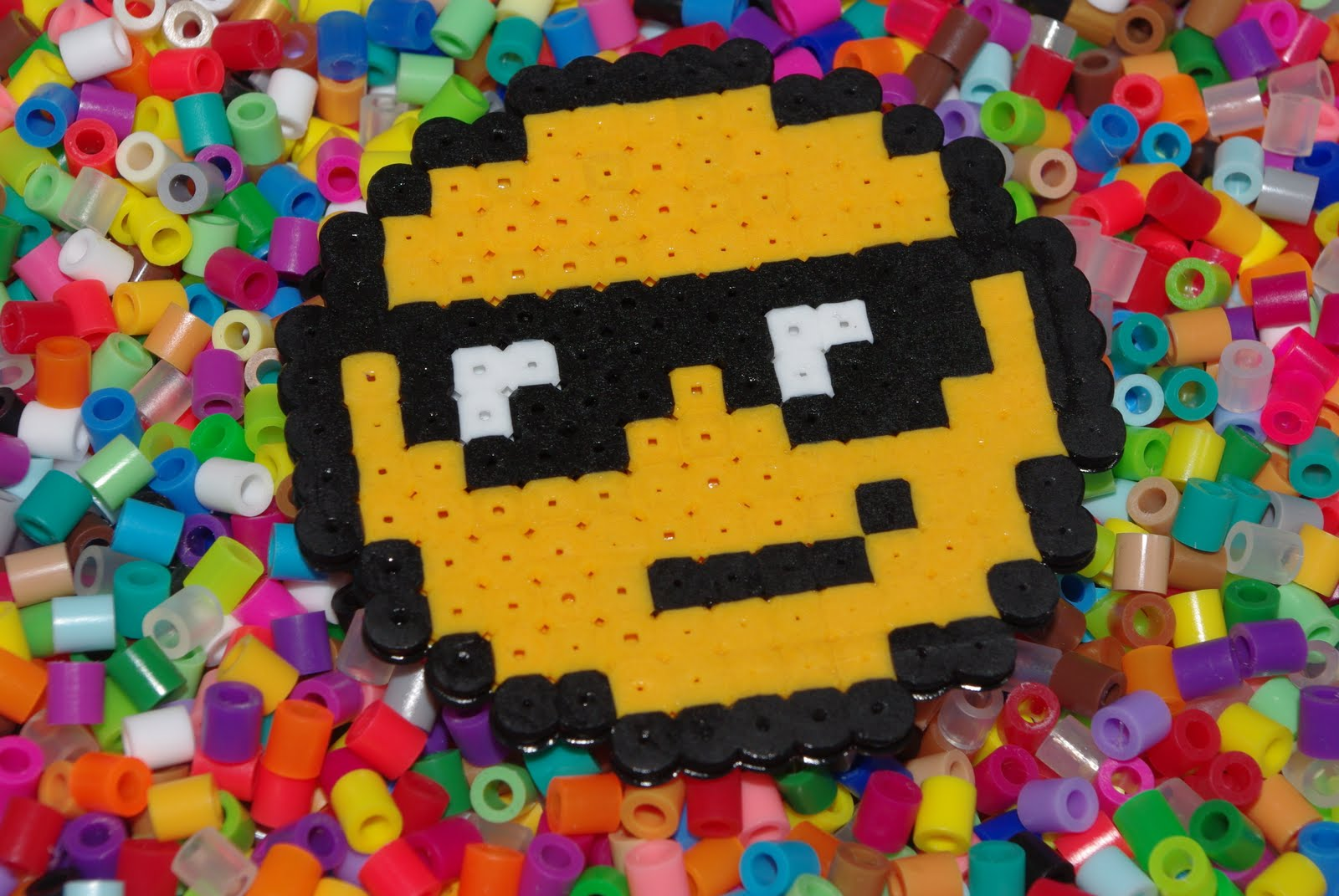 hight resolution of perler bead obsession