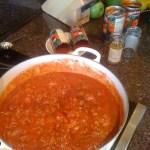 "Sheila's Story about her ""Irish Spaghetti"" recipe"