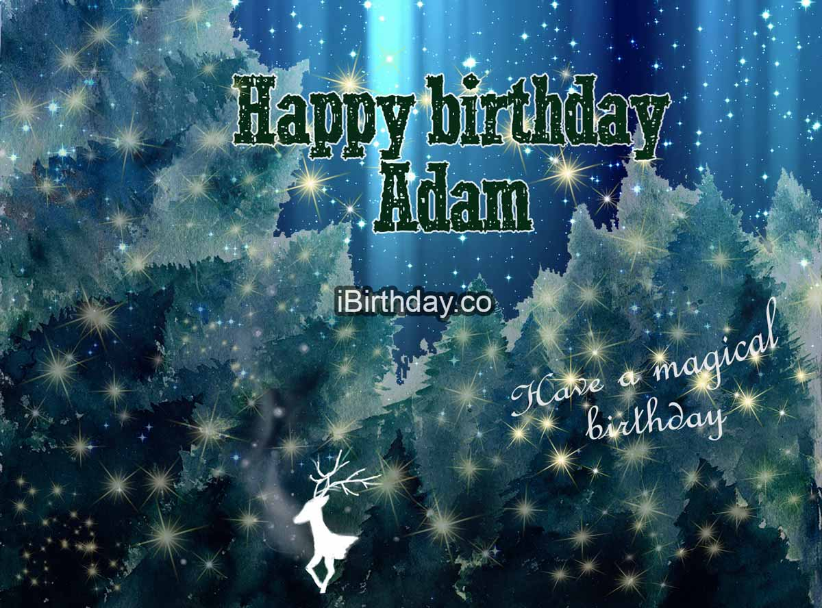 HAPPY BIRTHDAY ADAM MEMES WISHES AND QUOTES