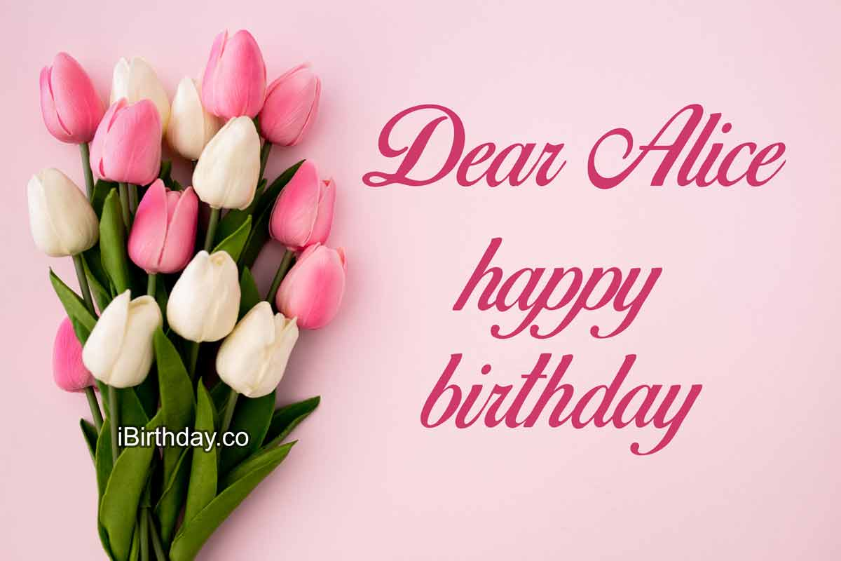 HAPPY BIRTHDAY ALICE MEMES WISHES AND QUOTES