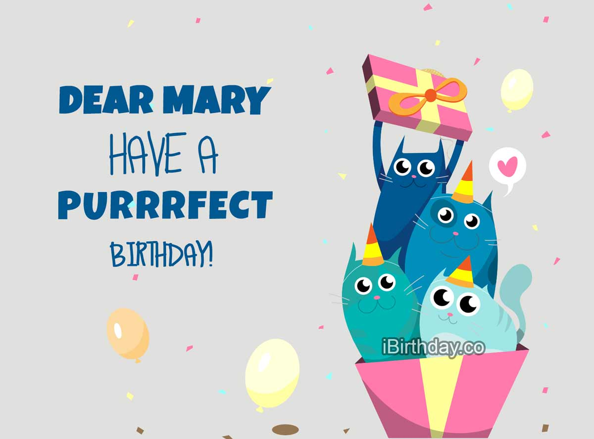 Happy Birthday Mary Memes Wishes And Quotes