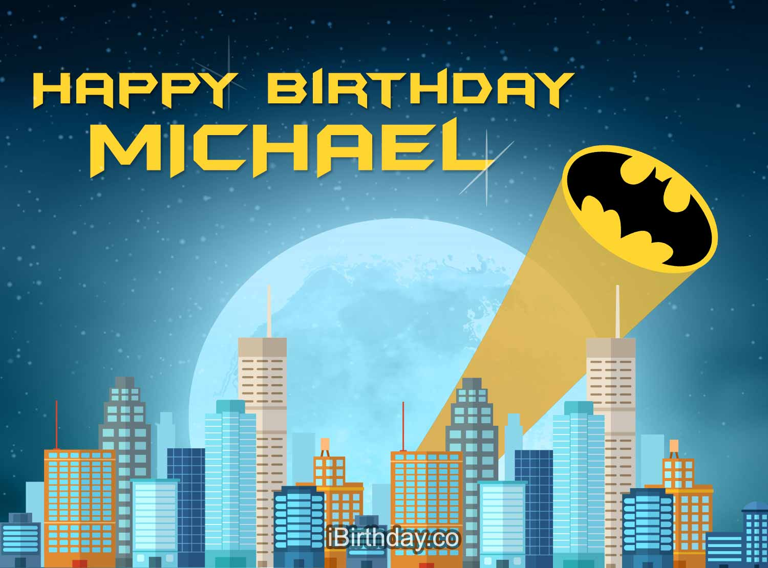 Happy Birthday Michael Betman Happy Birthday