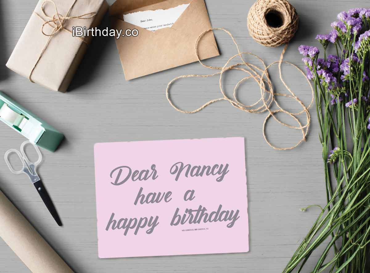 HAPPY BIRTHDAY NANCY MEMES WISHES AND QUOTES