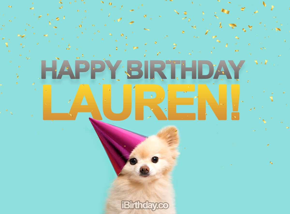 Lauren Dog Birthday Meme Happy Birthday