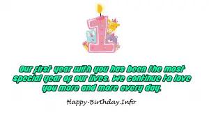 100 happy 1st birthday