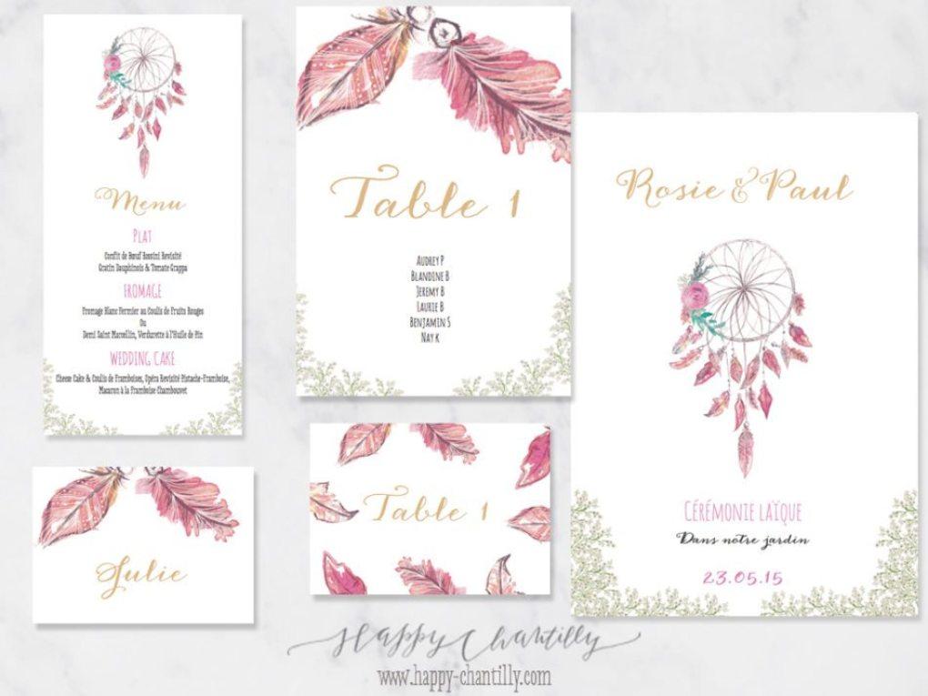Haut Faire-part mariage Attrape-rêve & cartes assorties – Happy  GE31