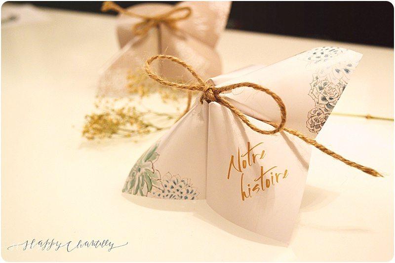 Famous Cocotte en papier assortie à votre faire-part – Happy Chantilly Studio KH09