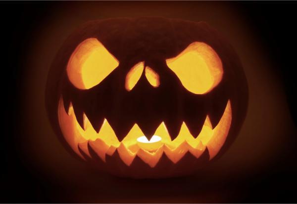 Geschnitzte Krbisse Krbisgesichter Zu Halloween